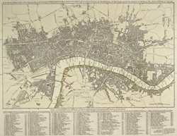 The LONDON DIRECTORY, or a New & Improved PLAN of LONDON, WESTMINSTER & SOUTHWARK;